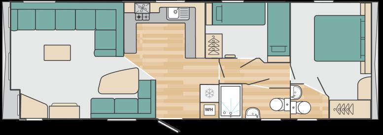 Holiday Home floorplan