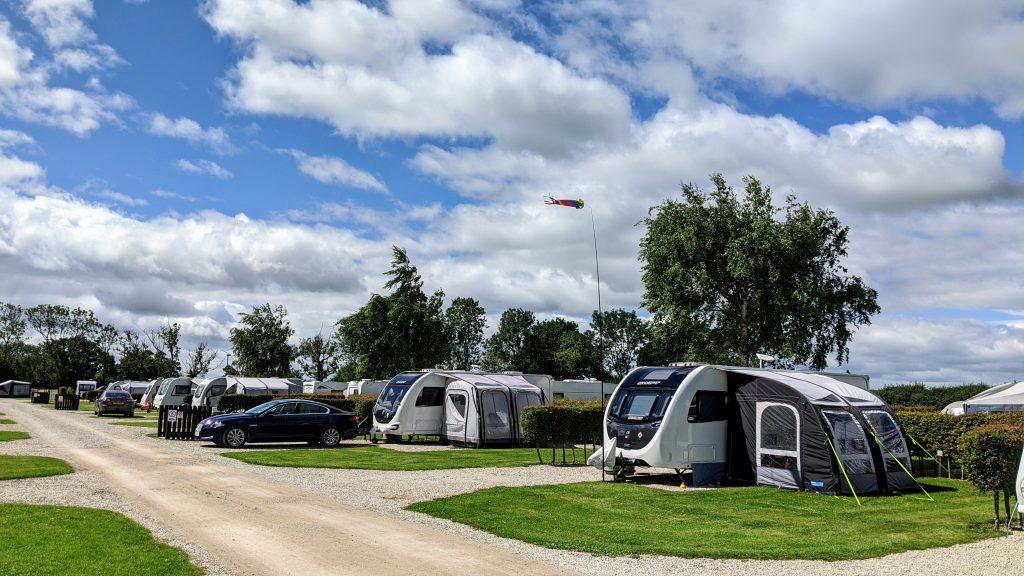 Touring field caravans