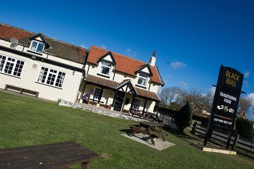 Black Bull pub garden